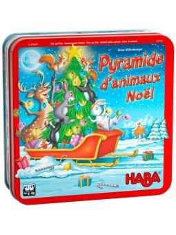 Pyramide d'animaux Noël