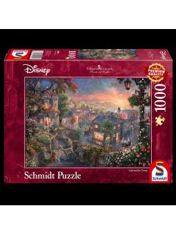 Puzzle 1000p La Belle et le...