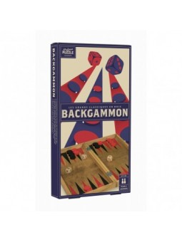 Backgammon Bois Vintage