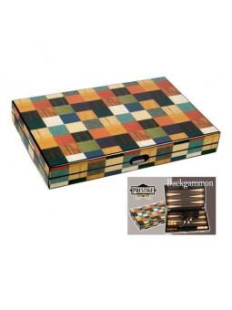 Backgammon marqueté...