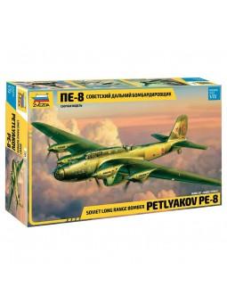 BOMBARDIER SOVIET. PE-8