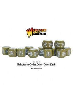 Bolt Action Orders Dice...
