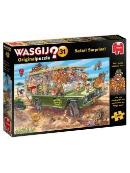 1000-Wasgij Original 31 Safari Surprise!