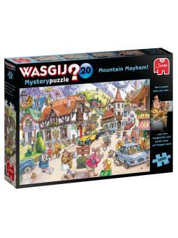 1000-Wasgij Mystery 20 Mountain Mayhem!